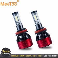 Us 3999 30 Offh7 Led H4 Hb4 H11 Led Auto Lampen 9005 9006 Auto Lichten Koplamp Lamp Vervangen Voor Xenon Lamp Lampada Voor Cars Diy In H7 Led H4