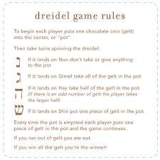 Small Picture Dreidel Game Rules dreidel Hanukkah Christmas Pinterest