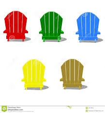 Adirondack Chair Stock Illustrations 89 Adirondack Chair Stock