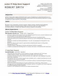 Sample Help Desk Support Resume It Help Desk Support Resume Samples Qwikresume