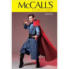Mccalls Costume Patterns Interesting Mens Doctor Strange Style Costume McCalls Sewing Pattern 48 Sew