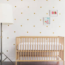 gold circle wall decals baby nursery bohemian baby nursery crib sheet sets baby bedding accessories