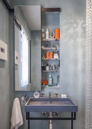 built in bathroom medicine cabinets. View In Gallery Custom-designed Built-in Medicine Cabinet Built Bathroom Cabinets R