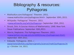 mathematicians pythagoras and zeno comparison of their  bibliography resources pythagoras