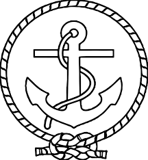 anchor coloring page fresh anchororing page captain ship logo picture highest clarity pages