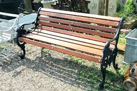 iron and wood h entryway black outdoor target cast slats wooden style garden bench seat legs