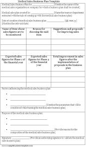 simple one page business plan template one page sales plan template