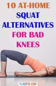squat alternatives for bad knees
