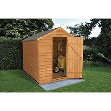subterranean space garden backyard huts cabins sheds. Modren Cabins Forest Garden Apex Overlap Dip Treated Windowless Shed  8 X 6 Ft For Subterranean Space Backyard Huts Cabins Sheds O