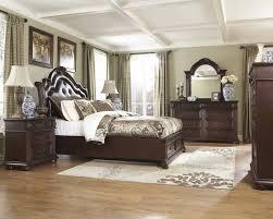 fancy upholstered king bedroom set solid wood king bedroom sets furniture with dresser and mirror