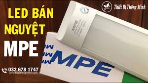Thiết Bị Thông Minh | ĐÈN BÁN NGUYỆT MPE 18W (BN-18T) | BỘ ĐÈN TUÝP LED  TUBE BÁN NGUYỆT MPE 1M2 - YouTube