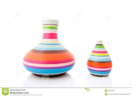white modern vases stock photos  image