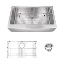 superior sinks 32 875 in x 20 75 in brushed satin single basin stainless steel