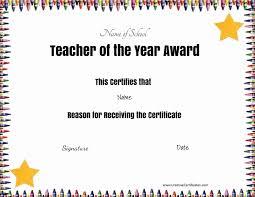 Free Appreciation Certificates Free Certificate Of Appreciation For Teachers Customize