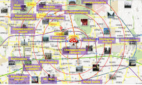 maps update  seoul tourist attractions map – seoul map