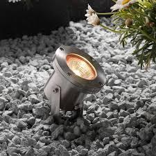 techmar plug and play arigo led garden spotlight stainless steel