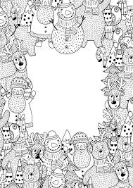 Color pictures of santa, elves, the north pole, christmas trees, angels, families celebrating the holiday and more. Free Easy To Print Adult Christmas Coloring Pages Tulamama
