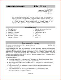Administrative Assistant Resume Samples Locksmith resume templates best of administrative assistant resume 16