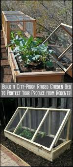 vegetables garden fence ideas for protection. Protect Your Produce From Rodents By Building This City-Proof Raised Garden Bed Vegetables Fence Ideas For Protection