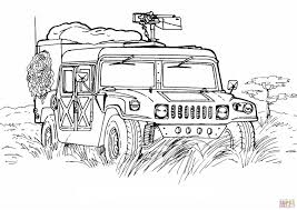 army hummer coloring page free printable coloring pages intended for army car coloring page