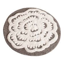 home and furniture awesome large round bathroom rugs at white rug chene interiors large round