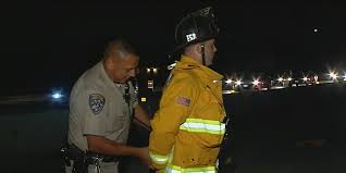 cop cuffs firefighter trying to help accident victims video cop cuffs firefighter trying to help accident victims video the huffington post