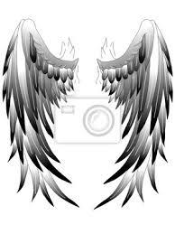 Fototapeta Andělská Křídla Andělská Křídla Tetování 1