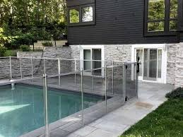 guardian pool fence. Guardian Pool Fence Installed In Southampton New York