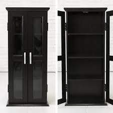 modern storage cabinets. image is loading black-storage-cabinet-2-glass-doors-modern-elegant- modern storage cabinets