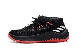 adidas basketball shoes damian lillard. 60% off adidas dame 4 d lillard black white red basketball shoe shoes damian t