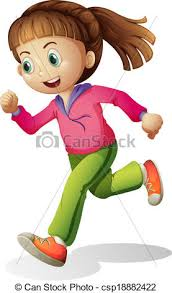 Image result for clipart jogging