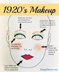 1920 s makeup adinserter middle post ad this tutorial is the real deal not the crazy stuff you see in the s so elegant in love