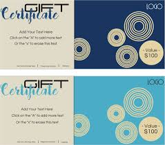 Make Your Own Gift Certificates Free Free Gift Certificate Template With Logo Make Your Own Gift