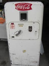 Coke Vending Machine Ebay Cool RARE Vintage Original Vendorlator VMC 48 Coca Cola Soda Vending