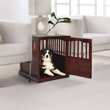 furniture style dog crate. pet crate end table furniture style dog