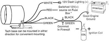 sunpro tach wiring mallory tach wiring \u2022 wiring diagrams j autometer tach wiring msd at Autometer Sport Comp Wiring Diagram