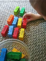 250 free phonics worksheets covering all 44 sounds, reading, spelling, sight words and sentences! Lego Word Family Sorting