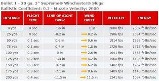 Remington Slugger Ballistics Chart Related Keywords