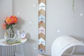 Stylish Height Charts For Children Kids Bedrooms Baby