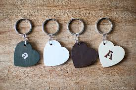 these diy keychains couldn t be easier to make and they are the perfect