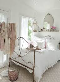 decoration small sized contemporary bedroom decorated with cool white nuance and decorating shabby chic concept