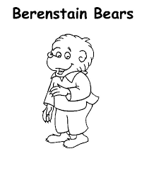 Small Picture New Berenstain Bears Coloring Pages 11 With Additional Coloring