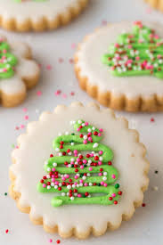 Christmas tree cookies are a traditional favorite. 95 Best Christmas Cookie Recipes Easy Holiday Cookie Ideas