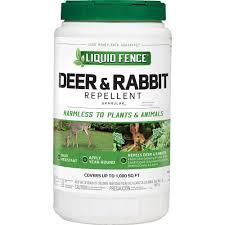 liquid fence 2 lb deer and rabbit repellent granules
