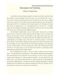 New 8 Sample Statement Of Purpose For Graduate School Pdf Sop Sample