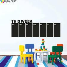 chalkboard wall decal free chalkboard wall decals weekly calendar this week blackboard calendar wall sticker chalkboard wall decal