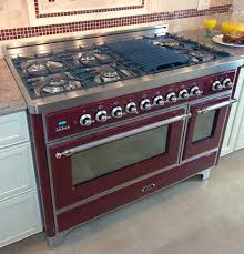 stove with grill. majestic kitchen range with optional cast iron grill pan from ilve by eurochef stove t