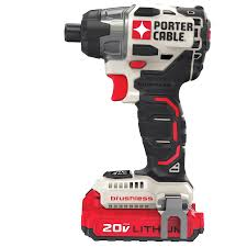 porter cable power tools. 20v max* lithium ion brushless impact driver (pcck647lb) porter cable power tools e
