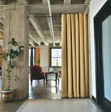 fabric room dividers diy curtain