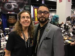 "Priscilla Spencer is Aces! 💜♠️ on Twitter: ""Nicodemus visited  @BadaliJewelry's #WonderCon booth to check out his cohort's new wares. Come  see us (and the whole Dresden line) at #2022!… https://t.co/O94df1U1iX"""